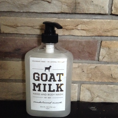 Goat Milk Liquid Soap