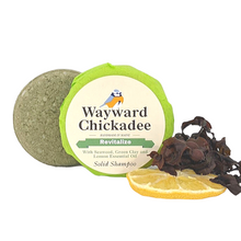 NEW | Revitalizing Solid Shampoo with Green Clay, Seaweed and Lemon Essential Oil - Wayward Chickadee