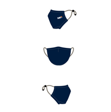 "Load image into Gallery viewer, ""Smooth"" Adult Face Mask (Navy)"