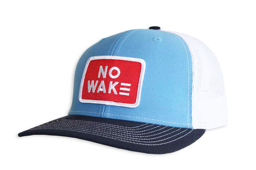 The Morris Trucker Hat.  No Wake.  No Wake Hat.