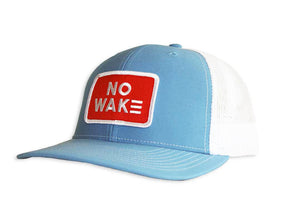 The Perkins Trucker Hat.  No Wake.  No Wake Hat.