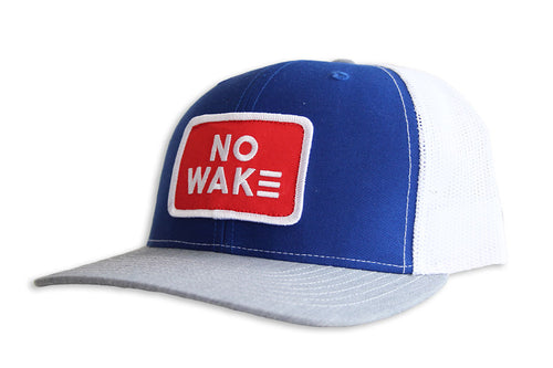 The Ryder Trucker Hat.  No Wake.  No Wake Hat.