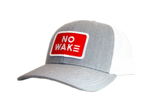 The Sutton Trucker Hat.  No Wake.  No Wake Hat.