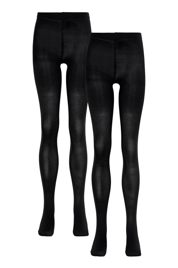 Cost:bart PARIS TIGHTS 2-PACK ACCESSORIES Black