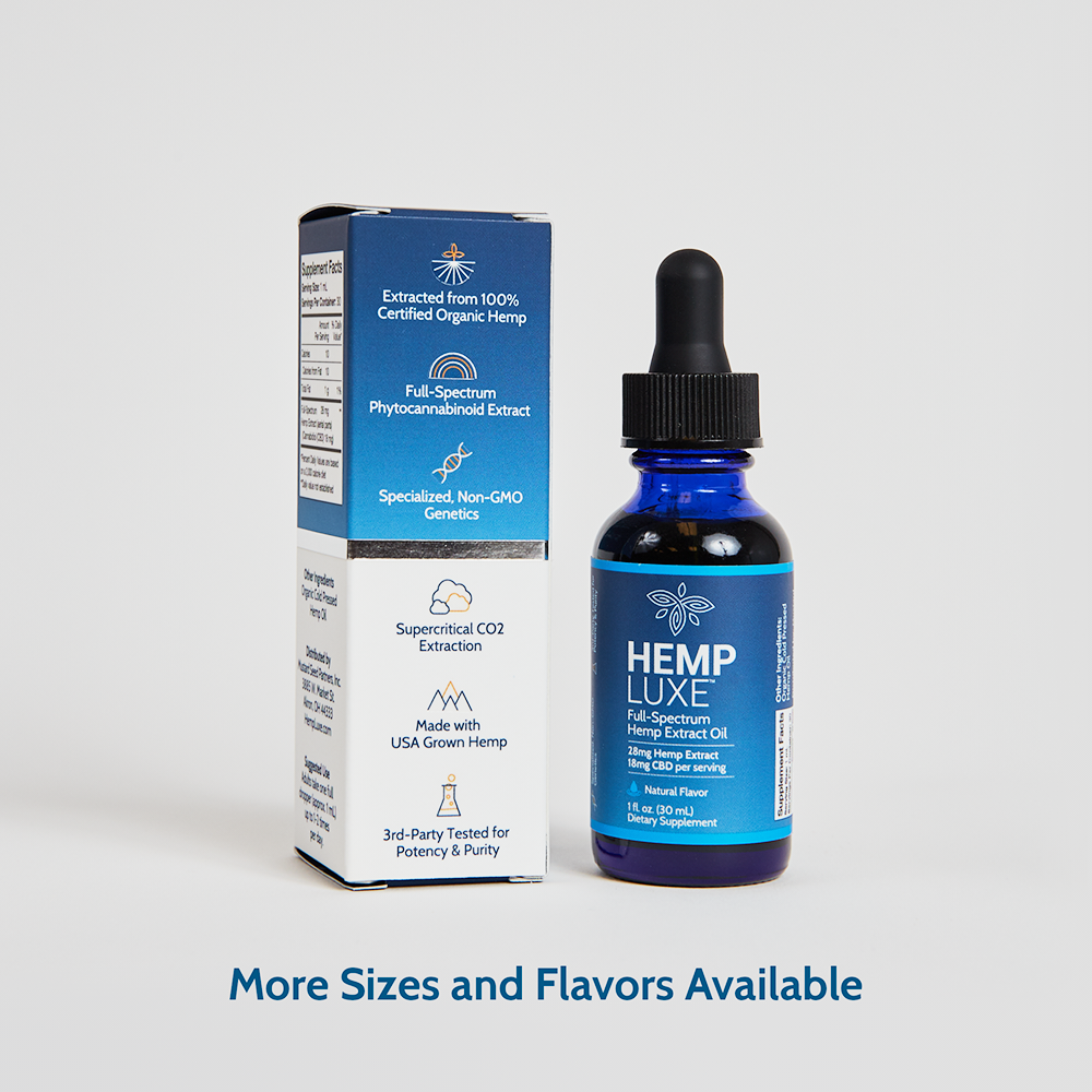 Full-Spectrum Hemp Extract Oil | Extra Strength