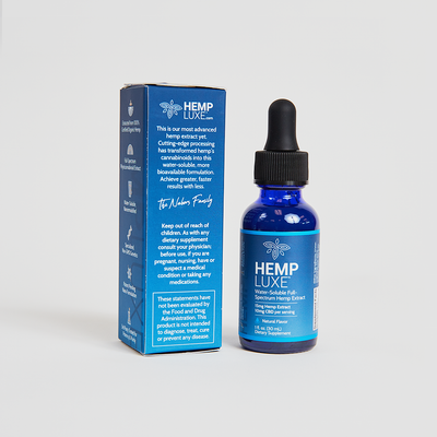 Full-Spectrum Hemp Extract | Water-Soluble | Multiple Flavors