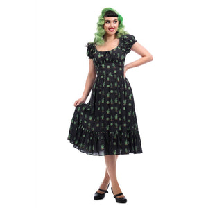 MAINLINE CARMEN CACTUS SWING DRESS