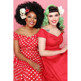 MAINLINE DOLORES DOLL DRESS POLKA RED