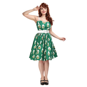 MAINLINE JADE CACTUS TERRARIUM SWING DRESS