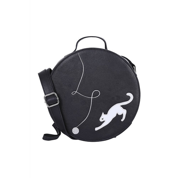 SALLY KITTY CAT CROSS BODY BAG