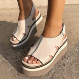 Zoiefashion Naked Feet Wedge Sandals