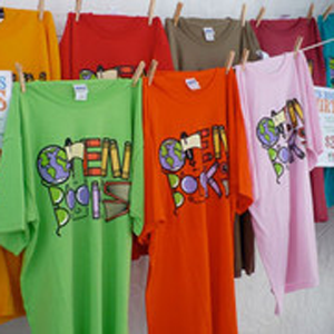 The Famous Open Books T-Shirts