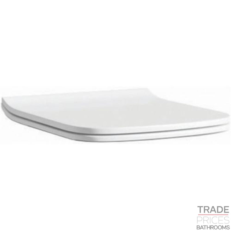 Fresh Square Slimline Toilet Seat  Tradeprices Building Supplies & Services Limited