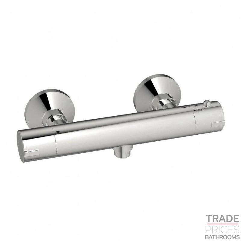 Harrisons Round Exposed Valve Bottom Outlet  Tradeprices Building Supplies & Services Limited