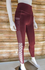 Superstar Burgundy Pants