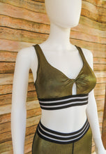 Load image into Gallery viewer, 24K Gold Everything Sports Bra