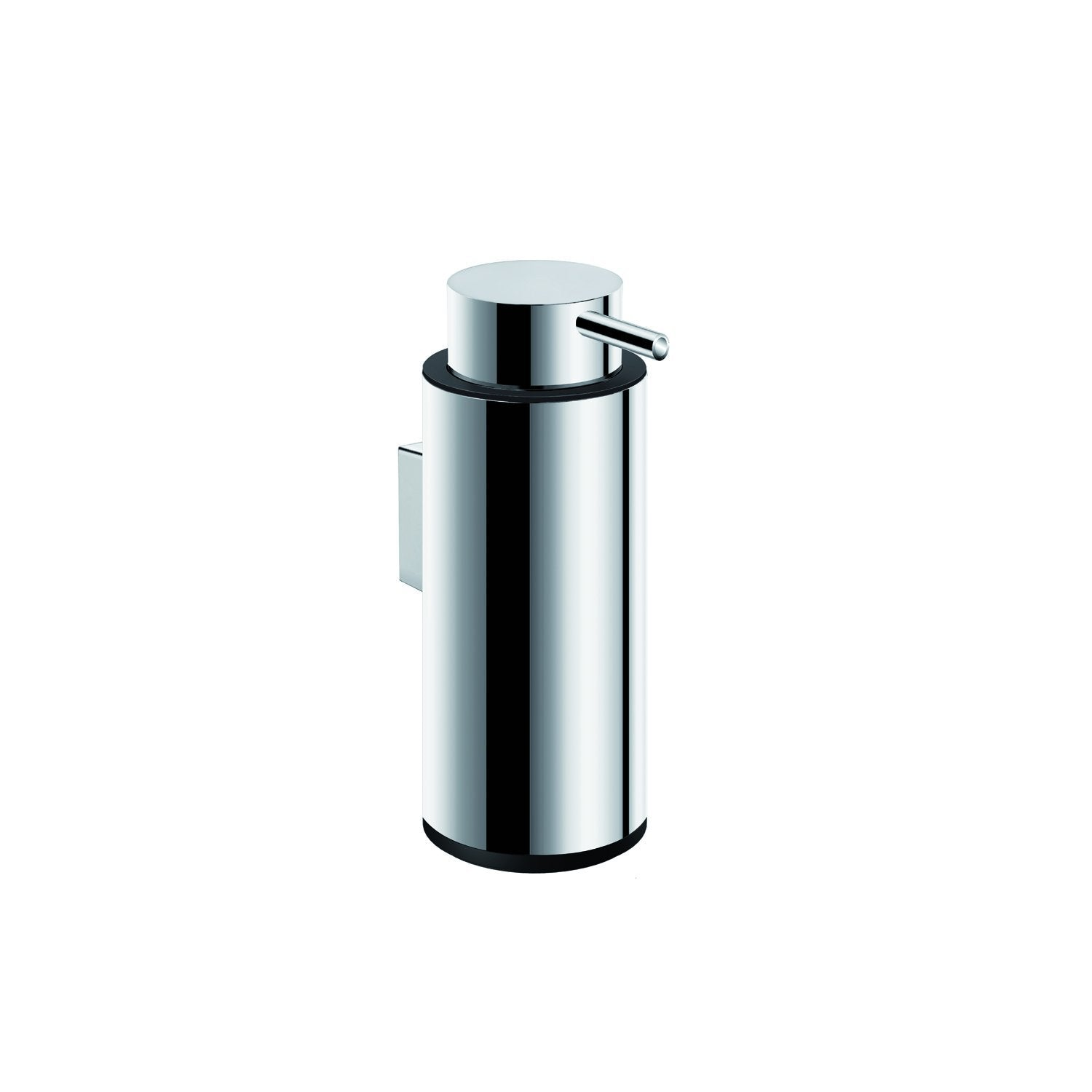 COSMIC Logic Soap Dispenser, Wall Mount, Stainless Steel Body, Chrome Finish, 2-3/8 x 6-1/2 x 2-3/8 Inches (2260304)