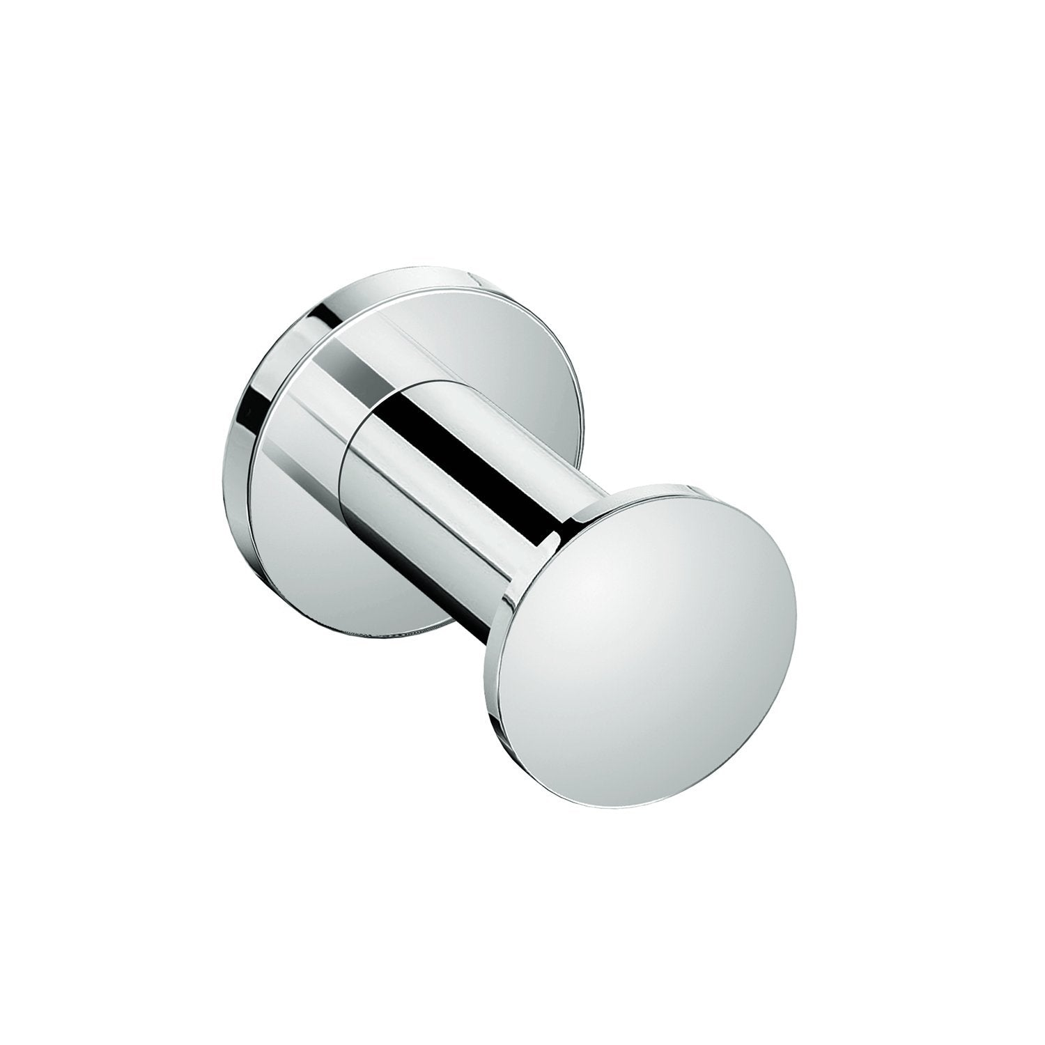 COSMIC Architect Single Bathroom Hook, Wall Mount, Brass Body, Chrome Finish (2050121)