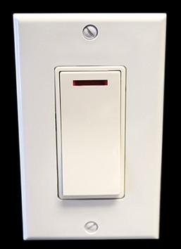 Amba Towel Warmers Controllers ATW-SA Amba Pilot Light Switch Almond