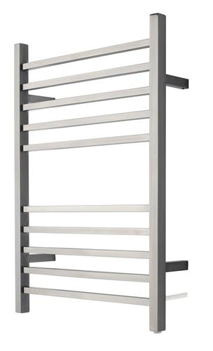 Amba RSWP-B Plug-In Radiant Square Towel Warmer, Brushed Finish