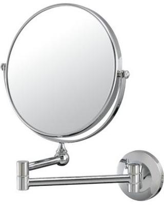 Mirror Image 20740 Double Arm Wall Mirror - Chrome