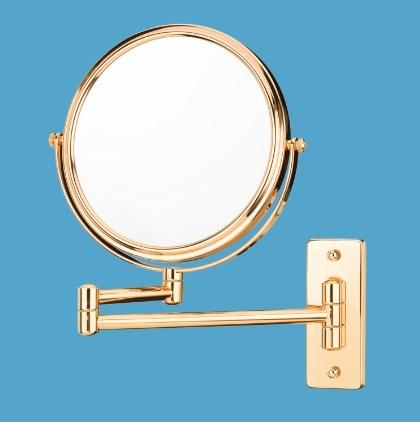 Mirror Image 21125 Pivot Arm Wall Mirror - Rose Gold
