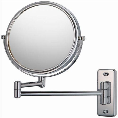 Mirror Image 21145 Double Arm Wall Mirror 5X / 1X Chrome