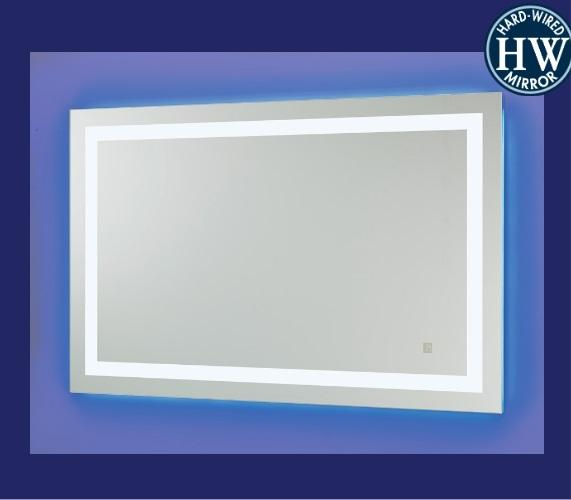Sergena 35001HW Neoclassic Back-Lit Mirror - Cool Light