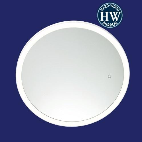 Sergena 36001HW Round Back-Lit Mirror - Cool Light