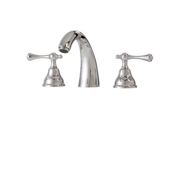Aquabrass ABFB07816BN 7816 Belmont Widespread Lav Faucet Brushed Nickel