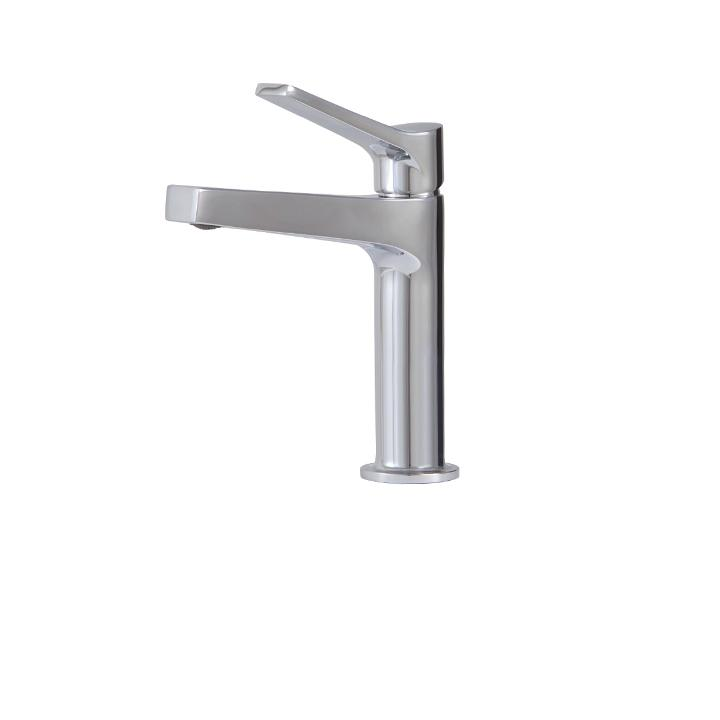 Aquabrass ABFB17014BN 17014 Metro Single-Hole Lav Faucet Brushed Nickel