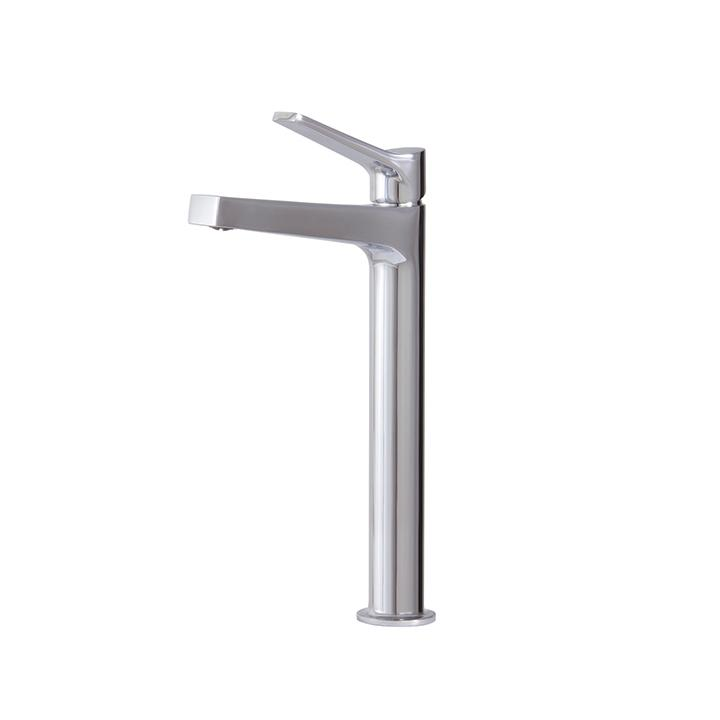 Aquabrass ABFB17020BN 17020 Metro Tall Single-Hole Lav Faucet Brushed Nickel