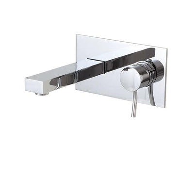 Aquabrass ABFB28029PC 28029 Hey Joe Wallmount Lav Faucet Polished Chrome