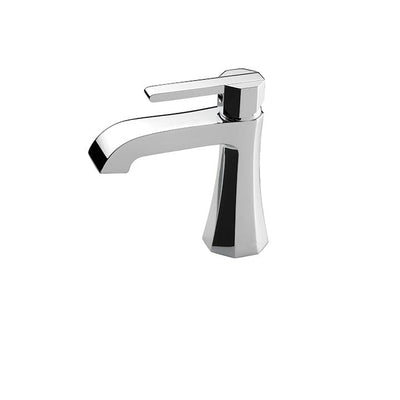Aquabrass ABFB53014BN 53014 Otto Single-Hole Lav Faucet Brushed Nickel