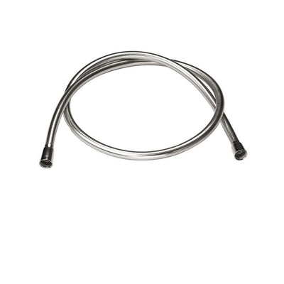 Aquabrass ABFH00136BN 136 - 5' Reinforced Pvc Hose Brushed Nickel