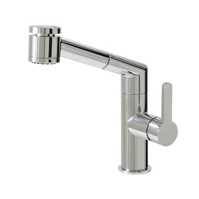 Aquabrass ABFK20243BN 20243 New Condo Pull-Out Spray Kitchen Faucet Brushed Nickel