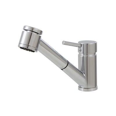 Aquabrass ABFK20343BNVD 20343 Tapas Pull-Out Spray Kitchen Faucet Brushed Nickel