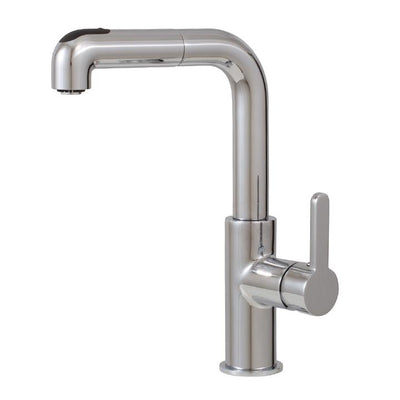 Aquabrass ABFK5043NBN 5043N Eatalia Pull-Out Spray Kitchen Faucet Brushed Nickel
