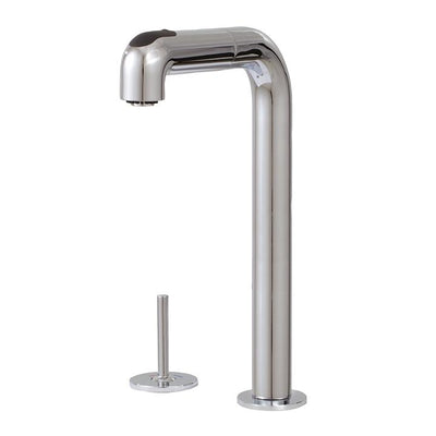 Aquabrass ABFK5143JBN 5143J Eatalia Joy Slim 2Pcs Pull-Out Spray Kitchen Faucet Brushed Nickel