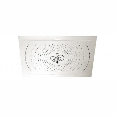 "Aquabrass ABSC00960PSS 960 Cura 40"" X 28"" Recessed Rainhead Polished Stainless Steel"