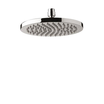 "Aquabrass ABSC02514BN 2514 Round Rain Head 8"" Brushed Nickel"