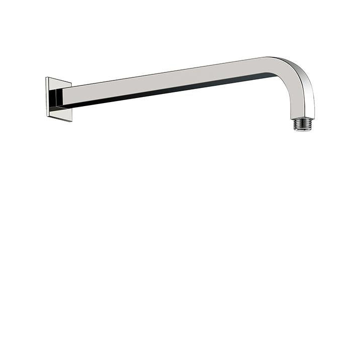 "Aquabrass ABSC08202BN 8202 Square Shower Arm & Flange 16"" Brushed Nickel"