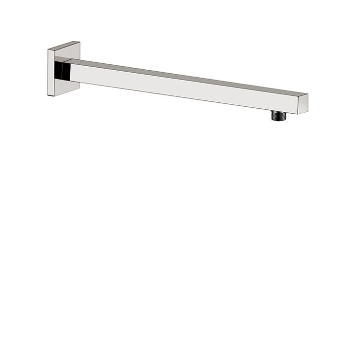 "Aquabrass ABSC08203BN 8203 Square Shower Arm & Flange 16"" Brushed Nickel"
