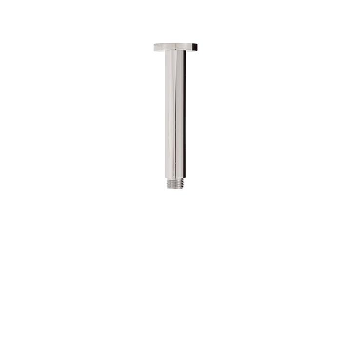 "Aquabrass ABSC08301BN 8301 6"" Round Ceiling Drop & Flange Brushed Nickel"