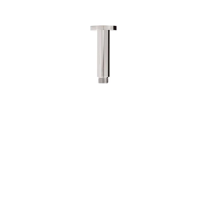 "Aquabrass ABSC08401BN 8401 Round Ceiling Drop & Flange 4"" Brushed Nickel"