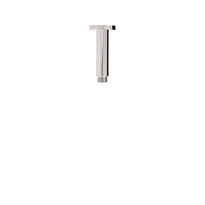 "Aquabrass ABSC08402BN 8401 Round Ceiling Drop & Square Flange 4"" Brushed Nickel"