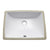"Avanity CUM20WT-R Undermount 20"" Rectangular Vitreous China Sink in White"