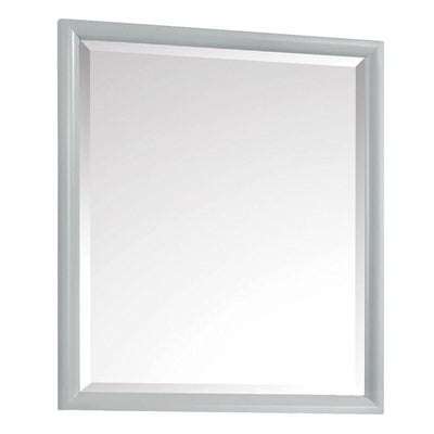 "Avanity EMMA-M28-DG Emma 28"" Mirror in Dove Gray"