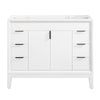 "Avanity EMMA-V42-WT Emma 42"" Vanity Only in White"