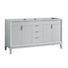 "Avanity EMMA-V60-DG Emma 60"" Vanity Only in Dove Gray"